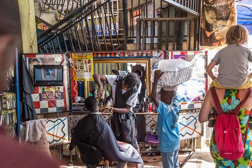 ghana kumasi barber ashanti gh