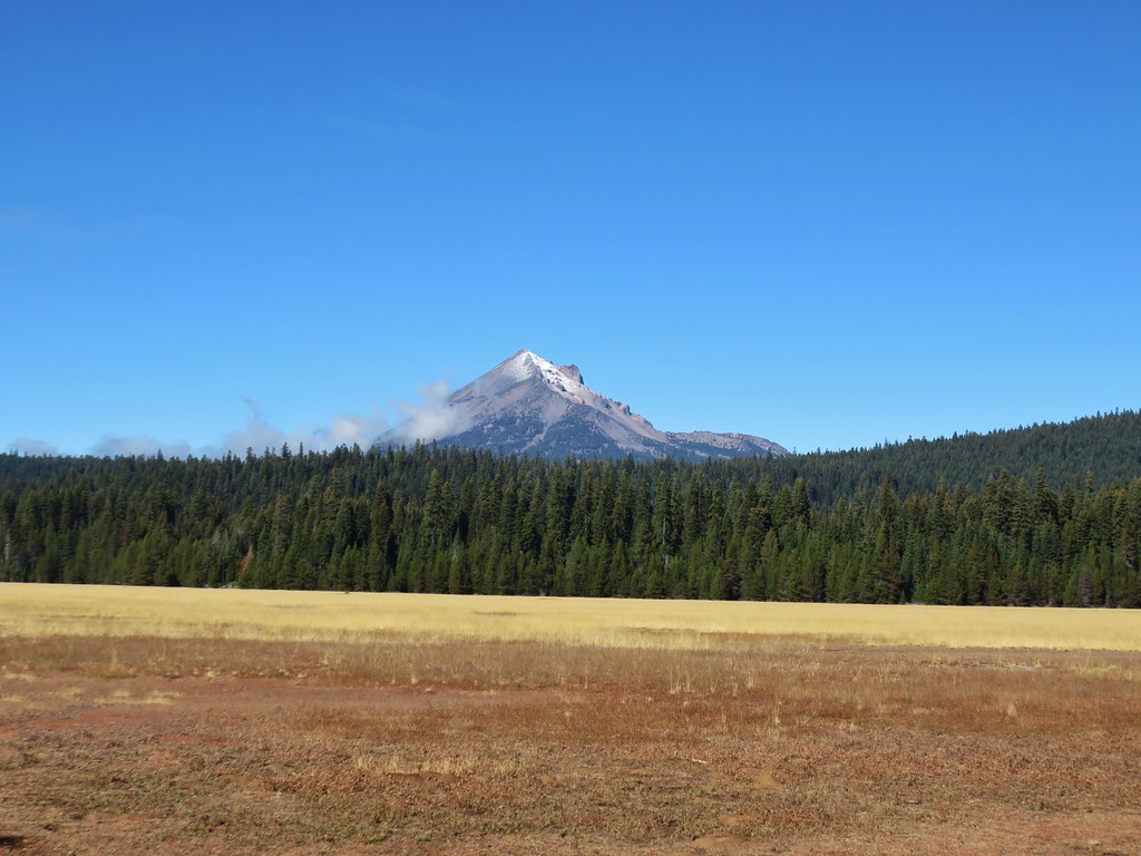 Mt. McLoughlin from Great Meadow