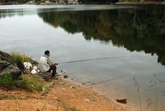 fishin' and hopin'