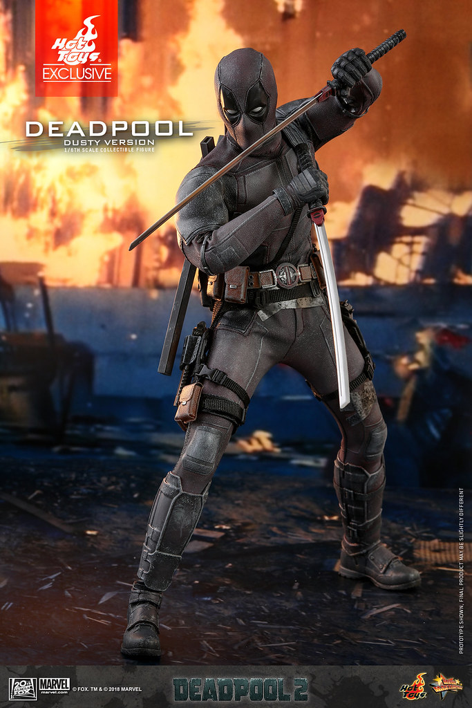 Hot Toys - MMS505 - 1/6th scale Deadpool (Dusty Version) Collectible Figure