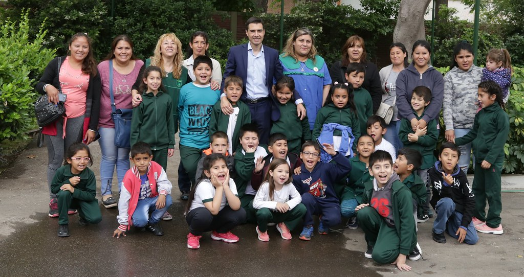 San Juan: Alumnos de la escuela Félix Aguilar de Sarmiento visitaron Casa de Gobierno