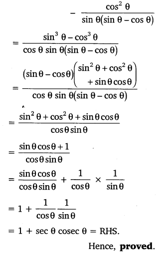 NCERT Solutions for Class 10 Maths Chapter 8 Introduction to Trigonometry 45