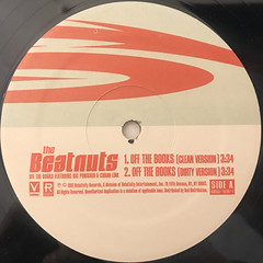 THE BEATNUTS:OFF THE BOOKS(LABEL SIDE-A)