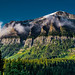 Mountain Peaks in Lake Louise by YL168
