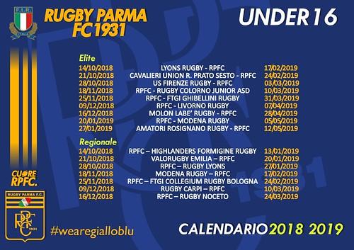 RPFC Calendario U16