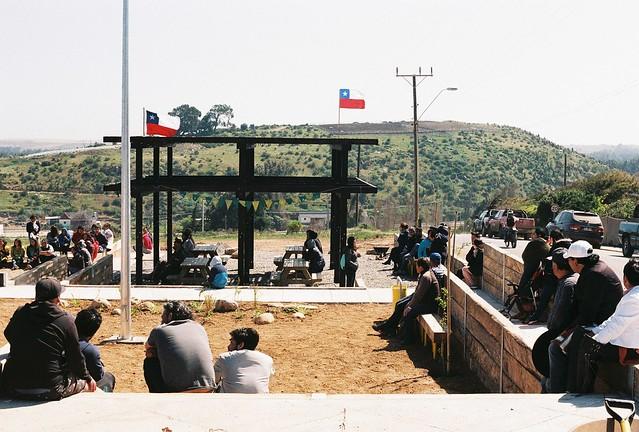 Plaza mirador Huentelauquén Sur l Huentelauquén l Somos Choapa