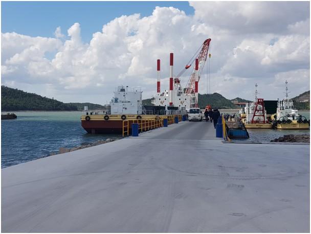 Ndéye Tické Ndiaye DIOP, Directeur général de l'Agence nationale des Affaires maritimes réceptionne les navires du MIEP2 (5)