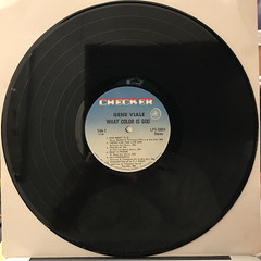 GENE VIALE:WHAT COLOR IS GOD?(RECORD SIDE-B)