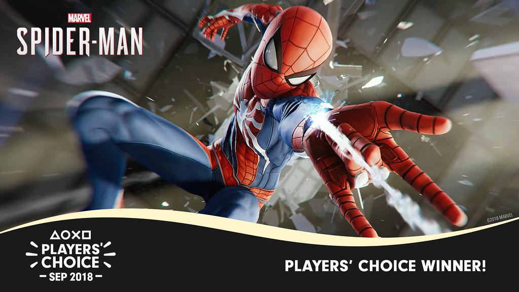 Players' Choice September 2018