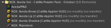 Powder Pack Catwa October 2018 - TeleportHub.com Live!