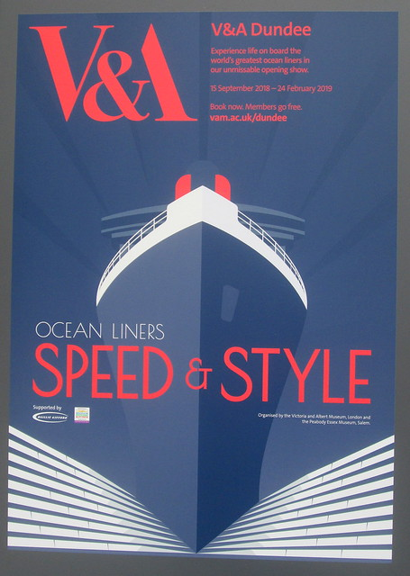 Poster For Ocean Liners Exhibition, V&A, Dundee