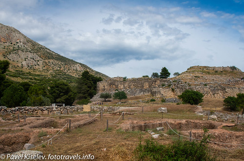 греция пейзаж greece landscape mycenae микены argos peloponneseregion gr