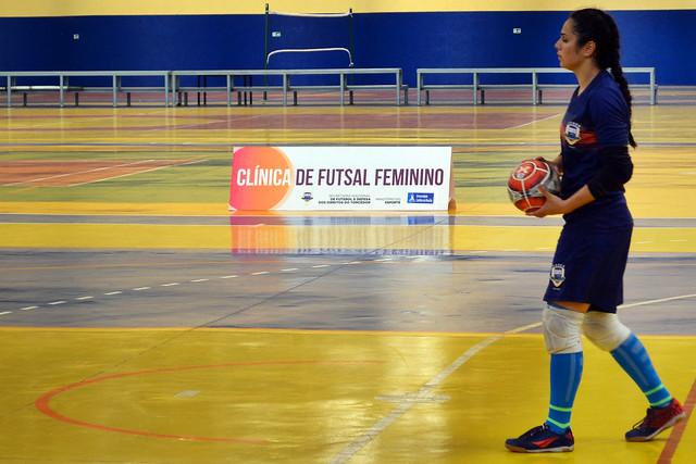 3ª Clínica de Futsal Feminino - UCB