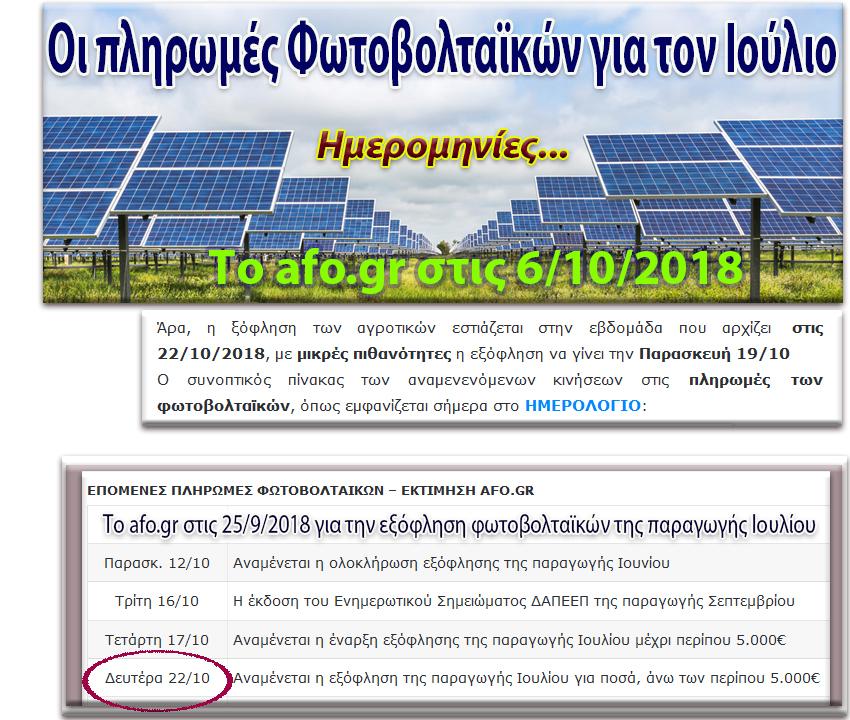 ΤΟ AFO ΕΓΡΑΨΕ