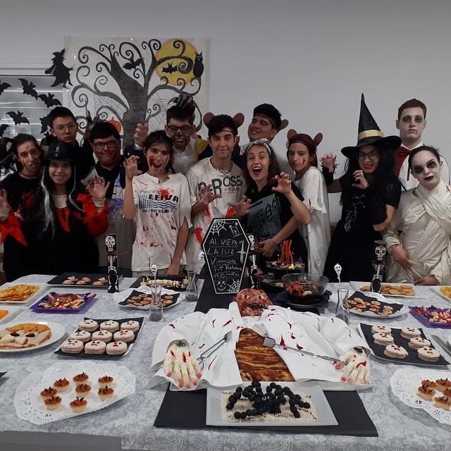 Platos de Halloween. FPB Cocina y Restauración
