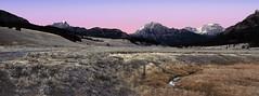 Peaks above Soda Butte Creek