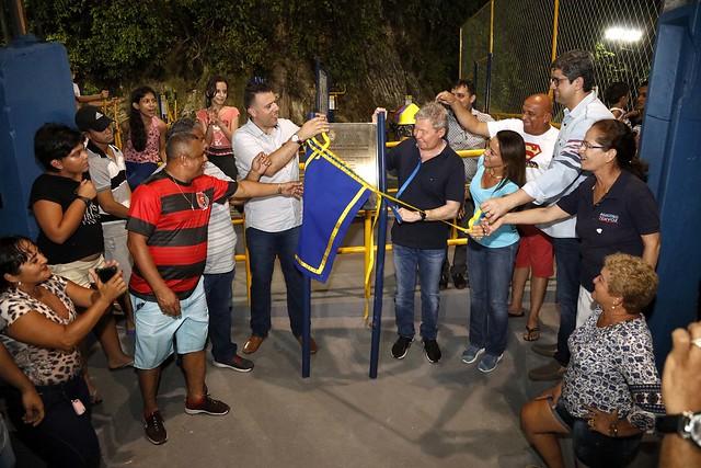 24.09.2018 Prefeito Arthur Neto Inaugura academia ao ar livre no núcleo 24, bairro Cidades Nova 5