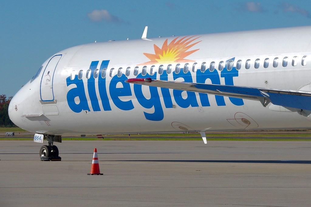 N864GA MD-82 Allegiant Air