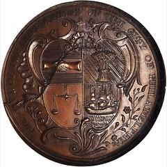 Kittanning Destroyed Medal reverse