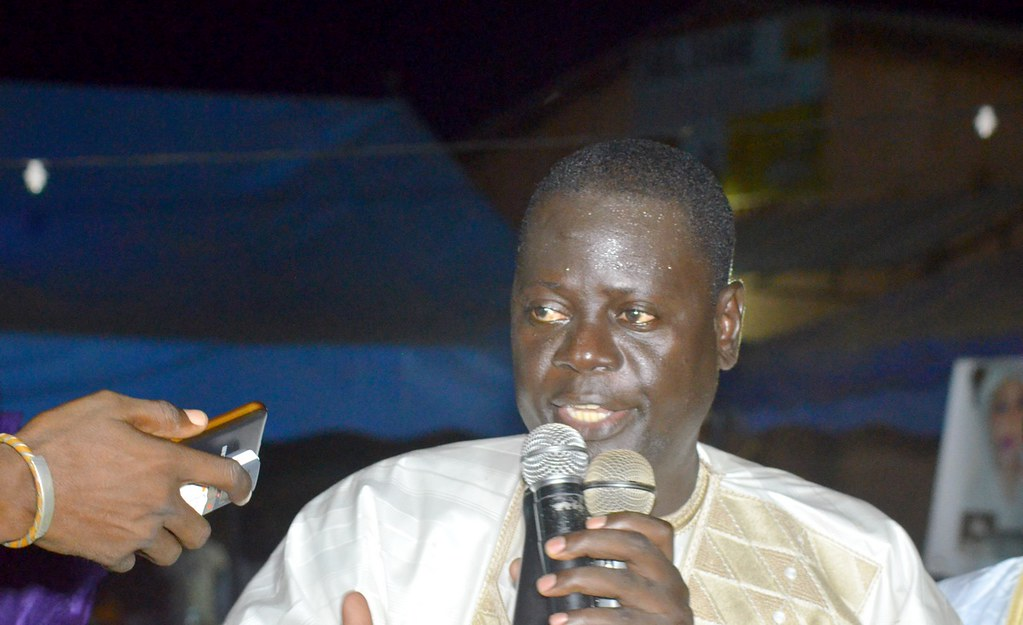 Meeting CAP2M à Thilogne, Ibrahima Agne, Oumar Mamadou Dème, APR Matam, Almamy Bocoum à Thilogne (8)
