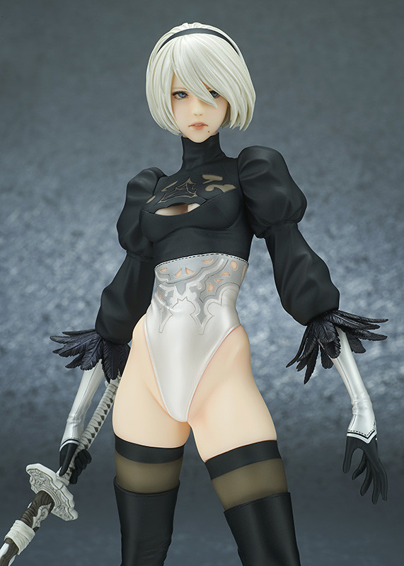 (Updated) FLARE《NieR:Automata》 2B PVC Figure Standard /Deluxe Edition