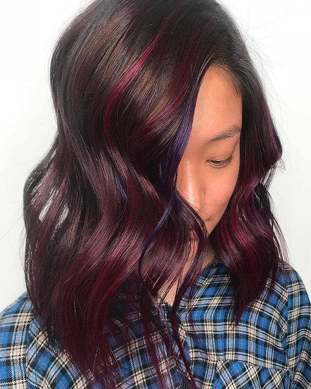 best burgundy hair dye to Rock this Fall 2019 23