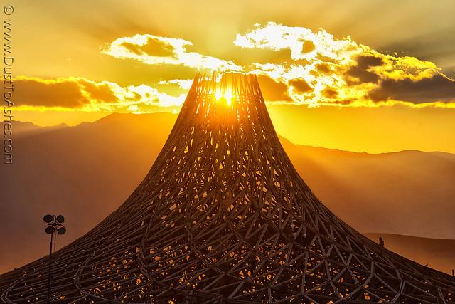 Galaxia Temple,   Burning Man 2018, Nikon D850, AF VR Zoom-Nikkor 80-400mm f/4.5-5.6D ED