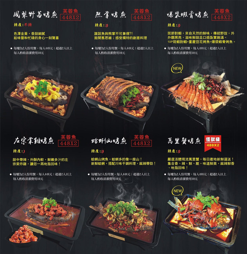 水貨菜單價錢