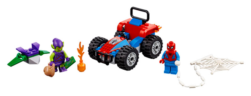 Spider-Man Car Chase (76133)