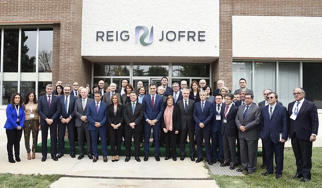 Inauguración de la ampliación de la planta farmacéutica de Reig Jofre en Toledo