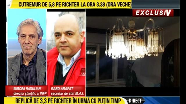 ARAFAT despre CUTREMURUL de 5,8 in Romania 28 octombrie 2018 ora 3:38