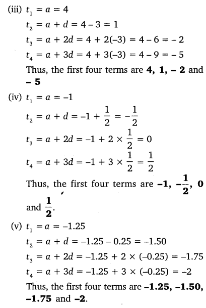 NCERT Solutions for Class 10 Maths Chapter 5 Arithmetic Progressions 5