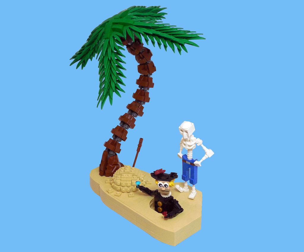LEGO® MOC by Vitreolum: Treasure Hunting 101 – Always Doublecheck for Curses