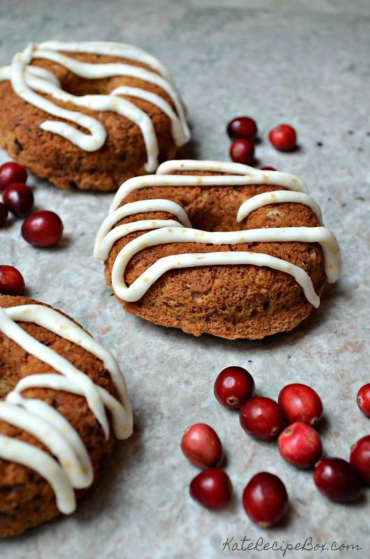 Cranberry Pecan Doughnuts 3
