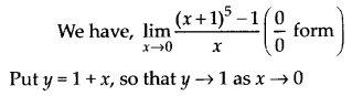 NCERT Solutions for Class 11 Maths Chapter 13 Limits and Derivatives 12