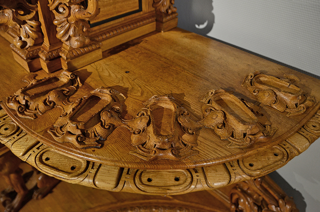 Hunting Style Sideboard 09