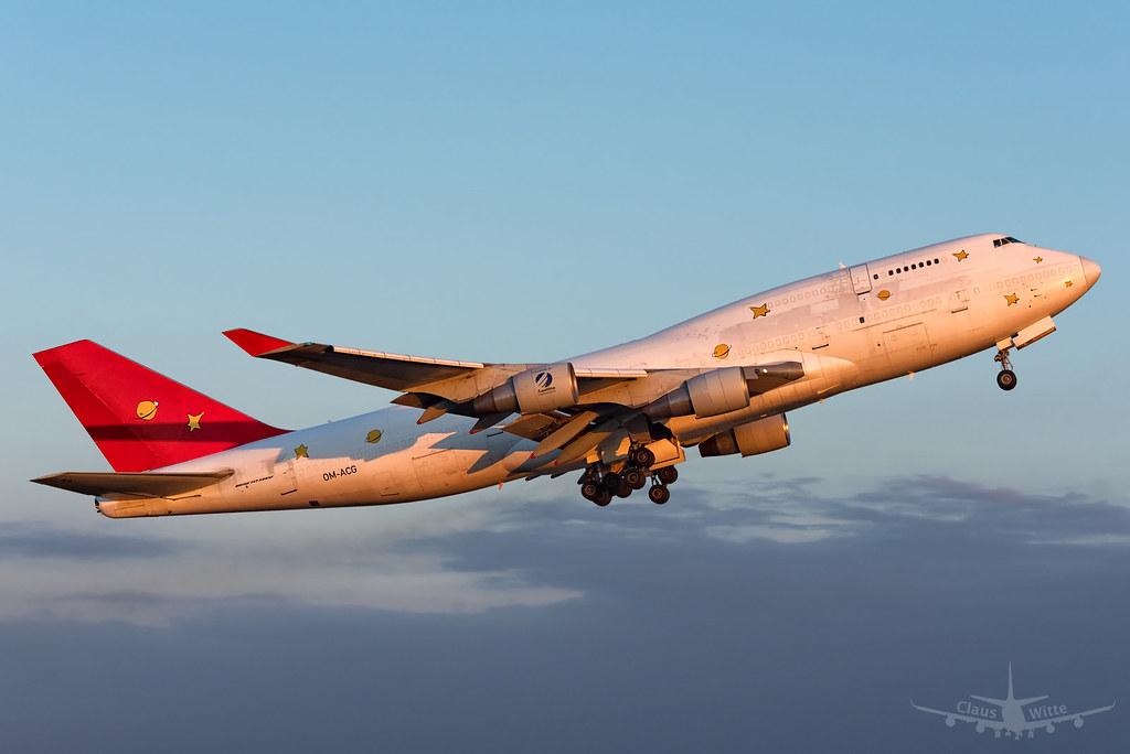 Air Cargo Global - Boeing 747-409(BDSF) - OM-ACG