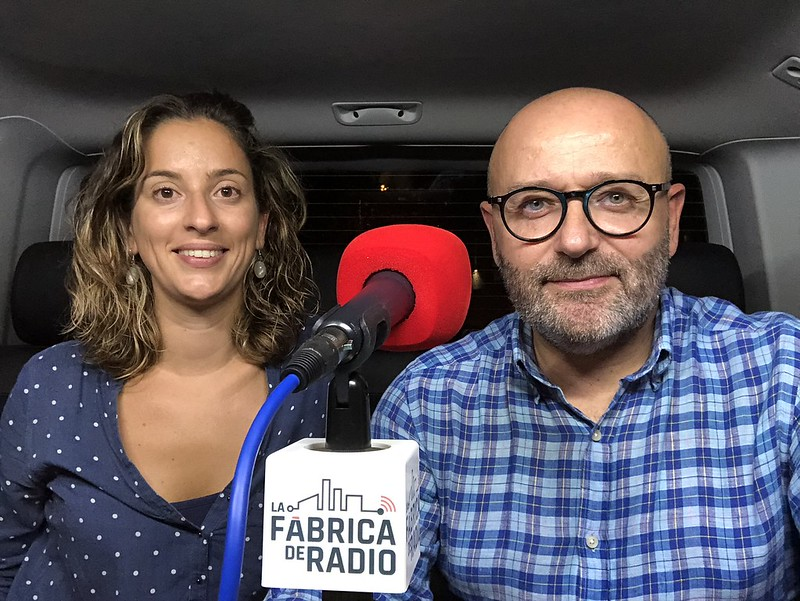 Foto 2018 09 19 Mila Martinez Paco Cremades Marketing OnLine La Fabrica de Radio Todo ira Bien