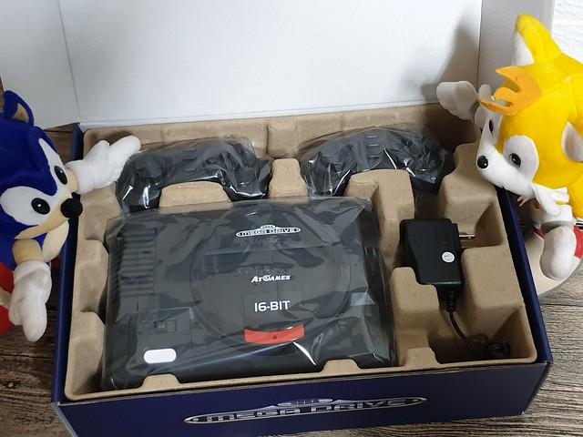 「SEGA MD 復古遊戲機」經典再現感動滿載,內建85款經典遊戲/電視遊樂器 - 10