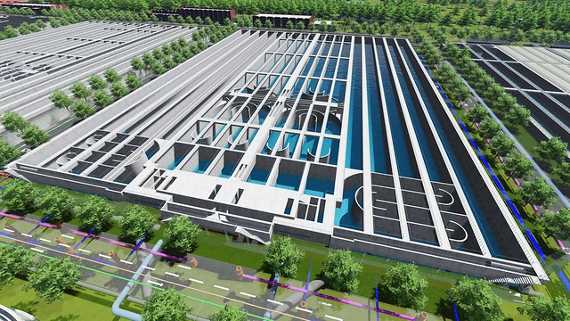 31_AI_Immersive Digital Twins Helps China Shanghai Railway Engineering Establish New Practices to Deliver Sewage Treatment Plant (3)