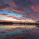 """5. Oktoober 2018 - 6:34 - """"morning pink sky  noosaville"""""""
