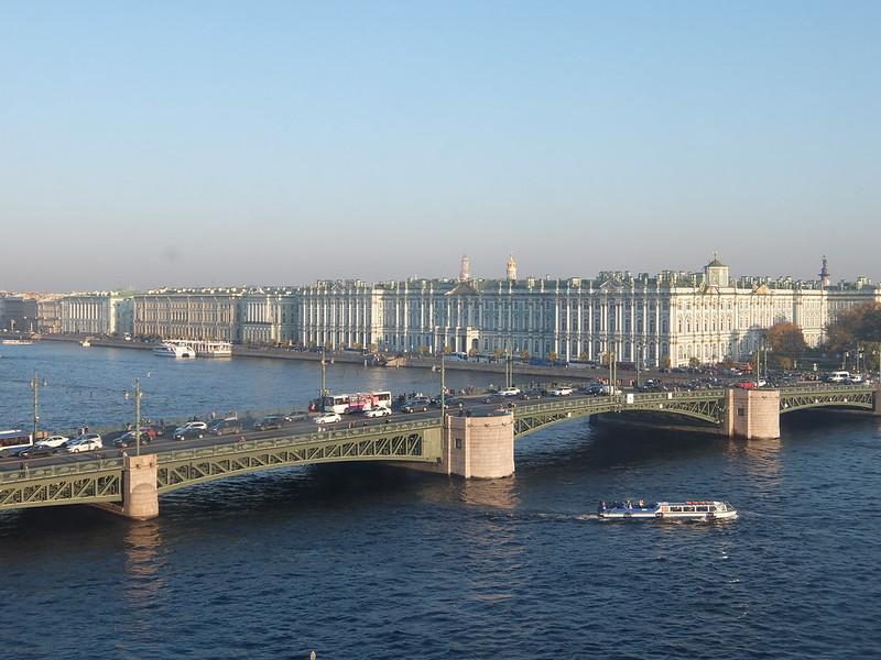 Санкт-Петербург - Вид из здания Кунсткамеры