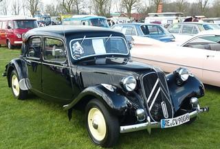 Citroen 11CV 1951 black vr