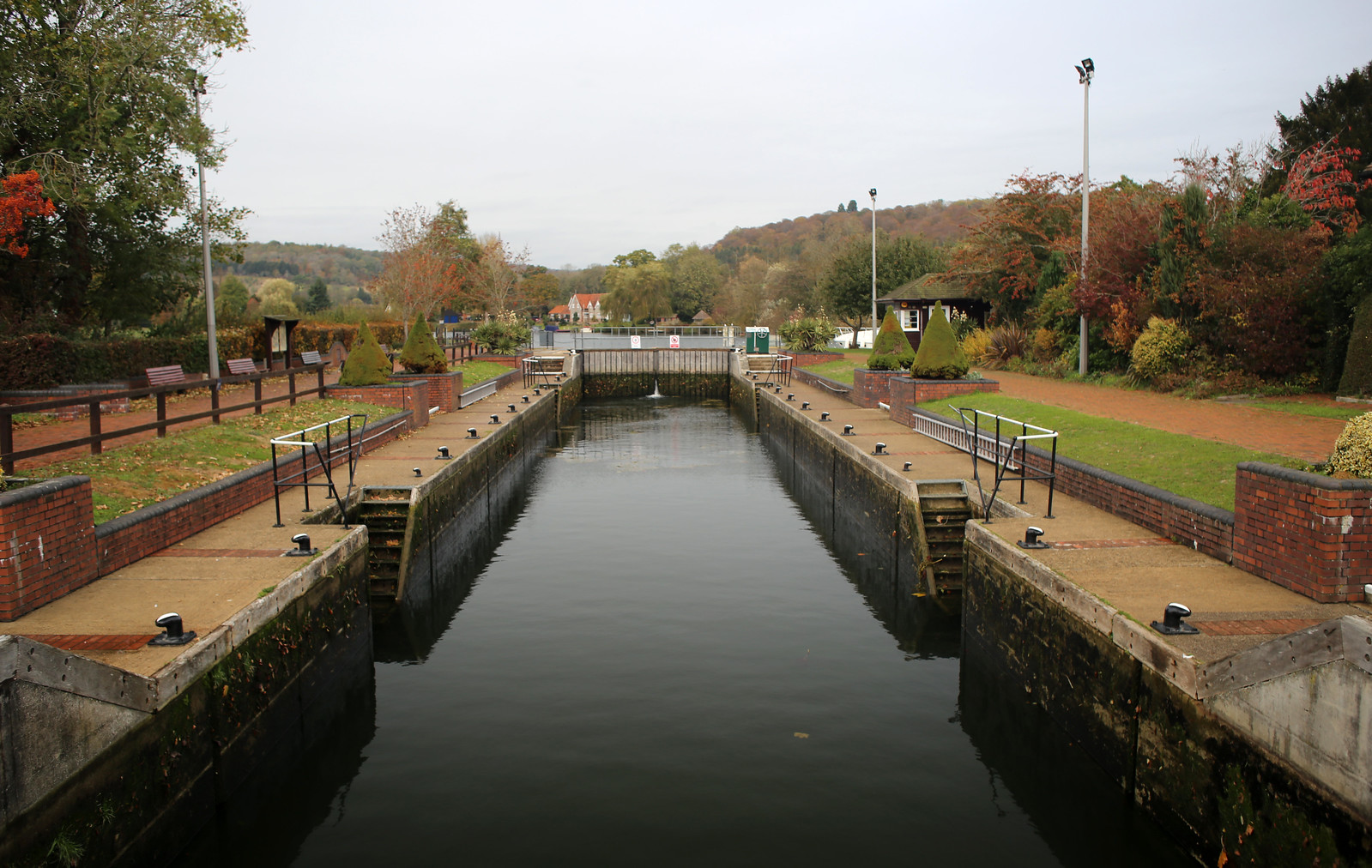 Hambleden Lock on the Thames