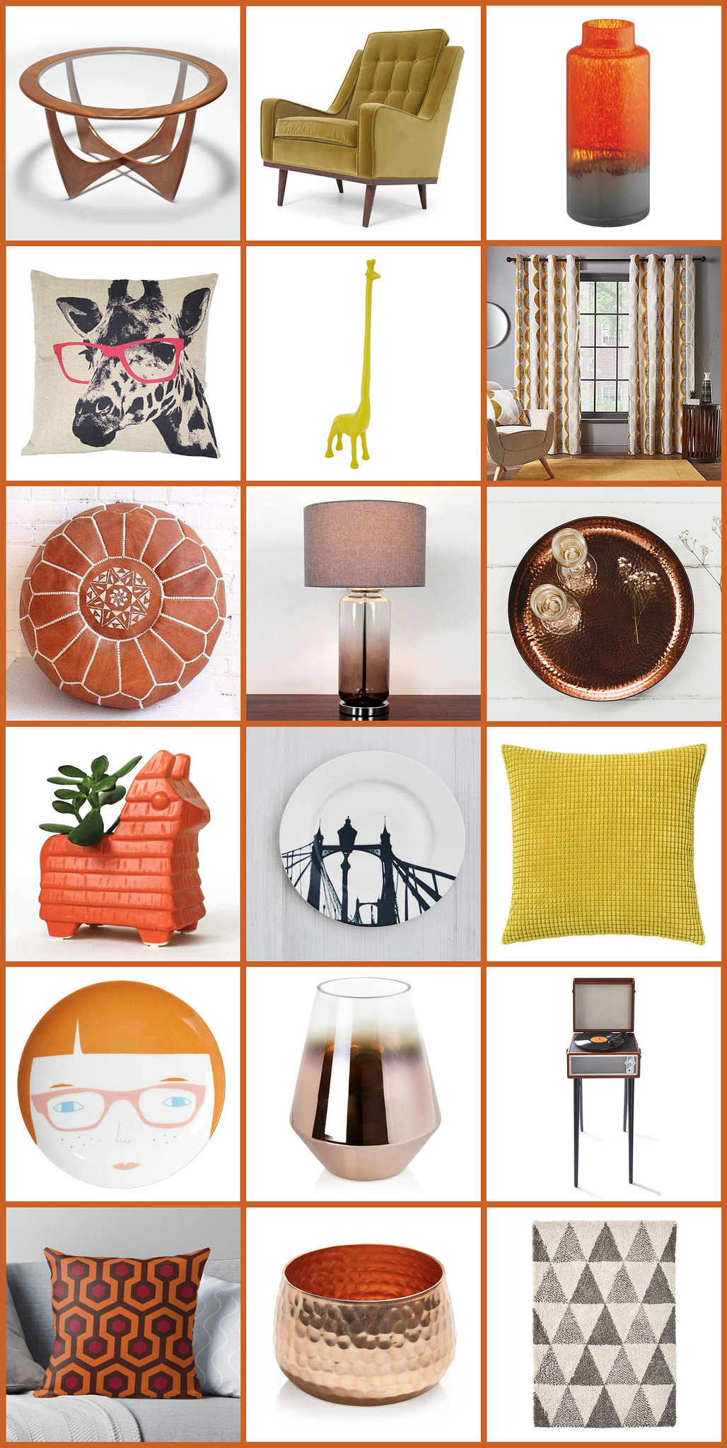 All the Mid-Century Modern Homewares We've Bought For Our New House: Living Room | Not Dressed As Lamb