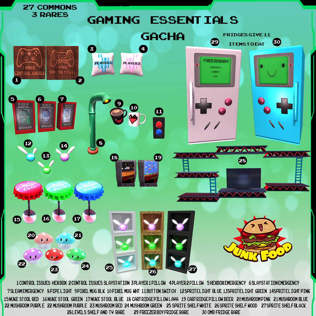 Junk Food - Gaming Essentials Gacha Ad - TeleportHub.com Live!