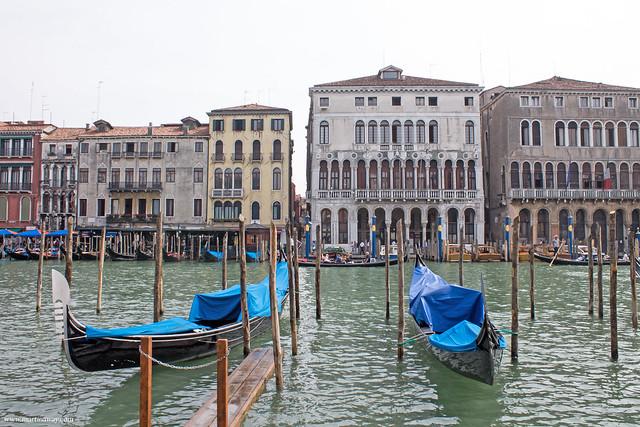 Palazzo Loredan e San Marco visti da San Polo