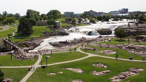 sioux falls park river south dakota