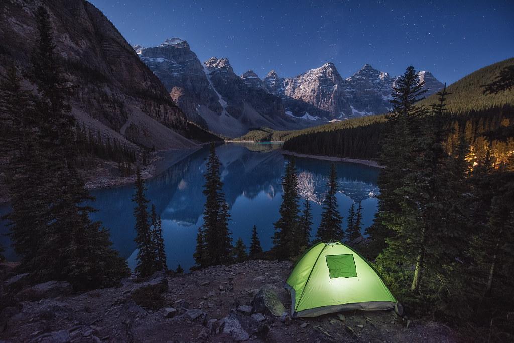 ElFoton18 puesto 1 AV02 Usuario Juliocastro (Canadá) - Habitacion con vistas - Tomada en Lago Moraine, Parque Nacional de Banff (Canadá)