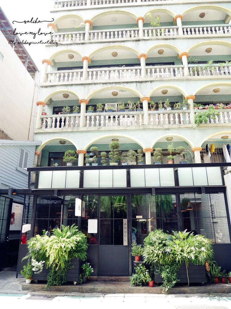 台北網美玻璃屋咖啡廳餐廳永康街ANGEL CAFE (6)